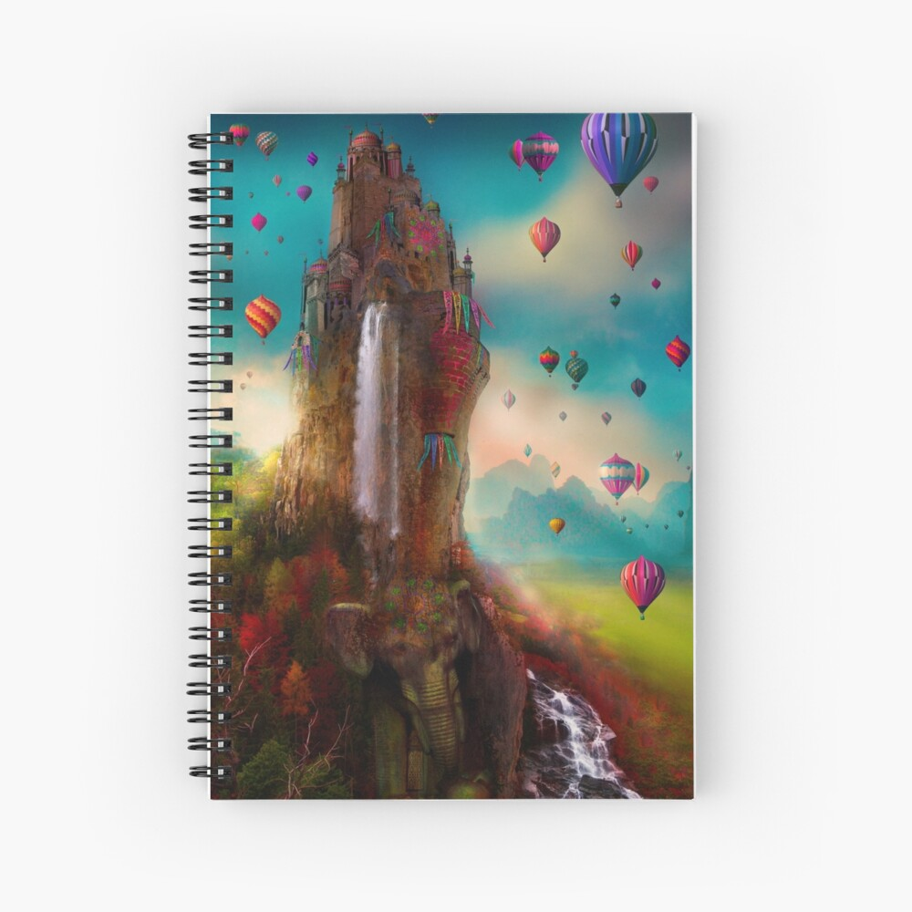 The Festival of Hin Chang Tor Spiral Notebook
