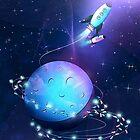 String Light Rocket by schwebewesen