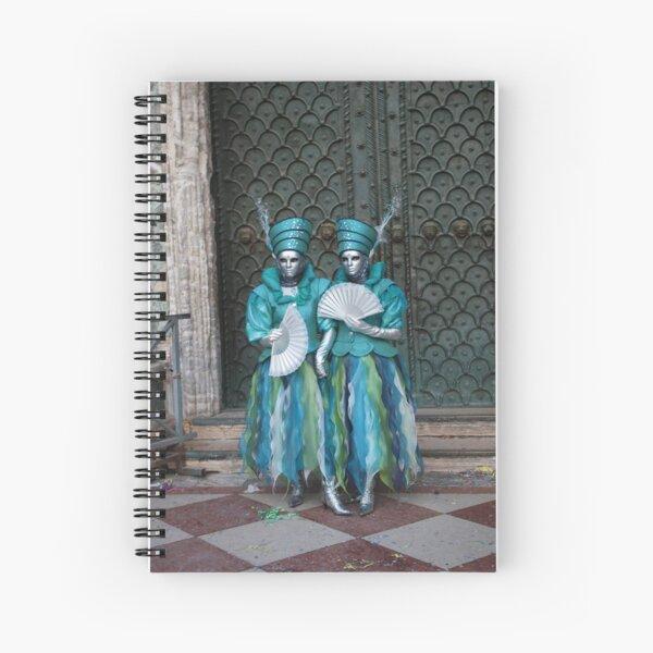 We Speak Binar Spiral Notebook