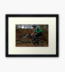 Yeti 2010 Dirt Jumper Framed Print