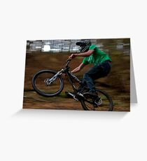 Yeti 2010 Dirt Jumper Greeting Card