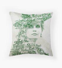 OUAT - Zelena Throw Pillow