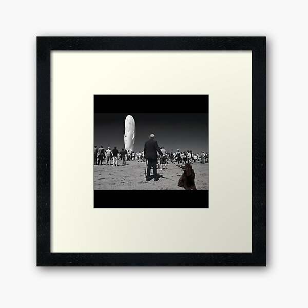 Watching a Dream Framed Art Print