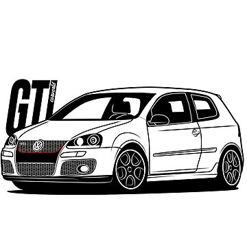 Golf Mk5 GTI Best Shirt Design by CarWorld