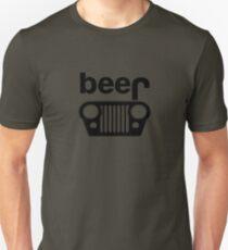 Jeep Logo - Beer Unisex T-Shirt
