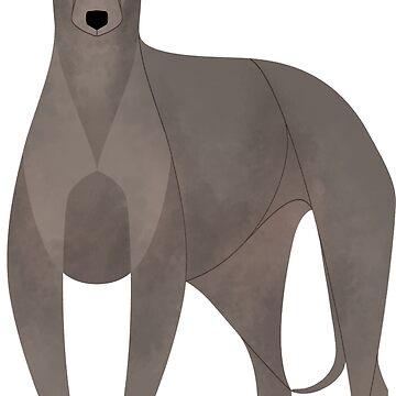 Year of the Dog - Italian Greyhound by Kelgrid