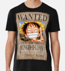 4de6e288a Camiseta premium para hombre One Piece - Luffy - Camiseta deseada