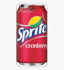 Sprite cranberry can iPhone Case