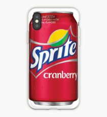 Sprite cranberry can iPhone Case