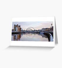 Tyneside Quayside Greeting Card