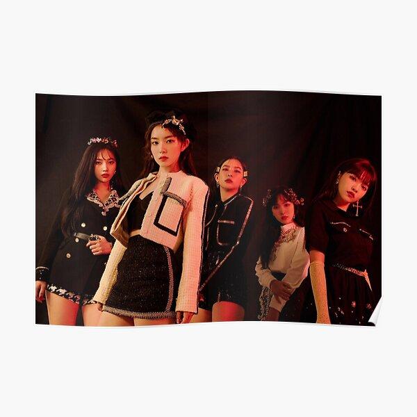 Red Velvet merch Poster