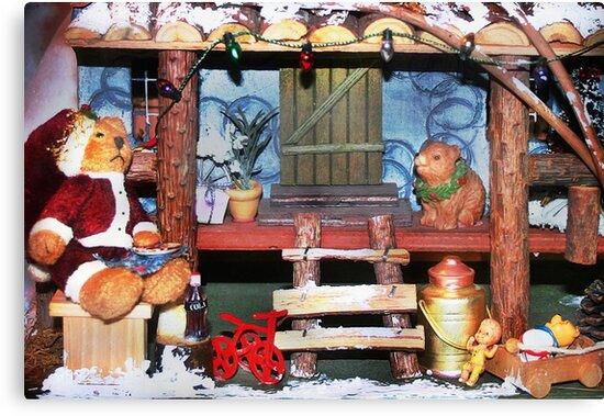 Santa Stops for Lunch by Nadya Johnson