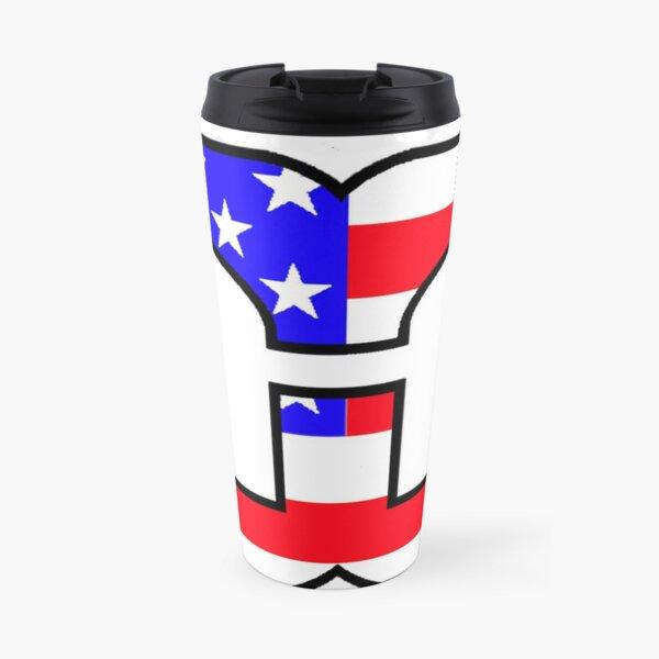 American Hartford Whalers Logo Travel Mug
