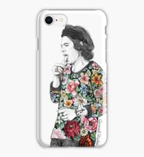 Floral H iPhone Case/Skin