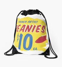 French Artist Beanies Drawstring Bag