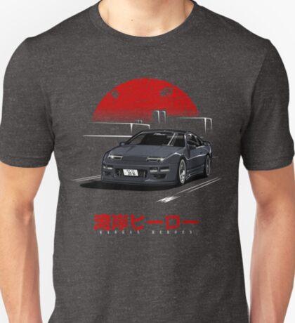 Wangan Heroes Z32 - Black T-Shirt
