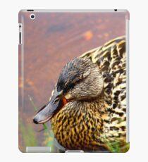 Portrait of a Duck iPad Case/Skin
