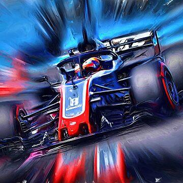 Romain Grosjean # 8 by Glineur