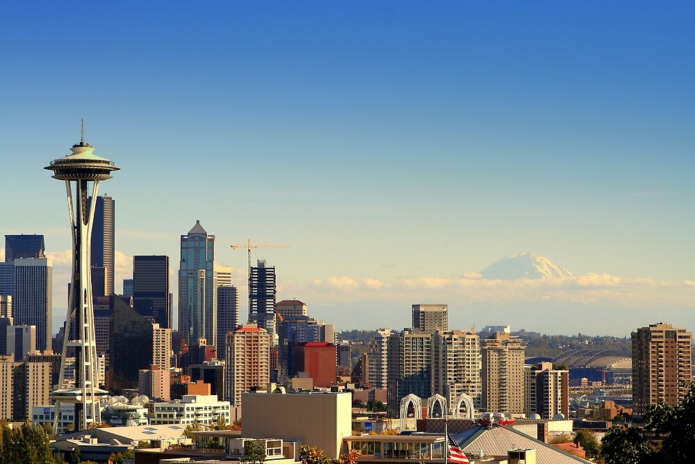 Seattle by hallimar