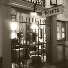 Nickle Plate Train Station by Bob  Perkoski