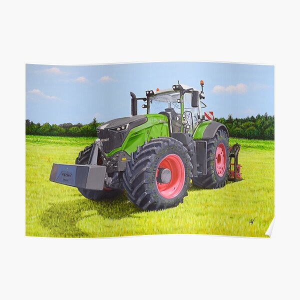 Tractor Fendt Vario Style Poster