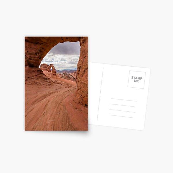 Twisted Donut Arch Postcard