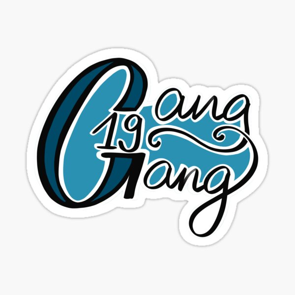 Gang Gang Logo Sticker