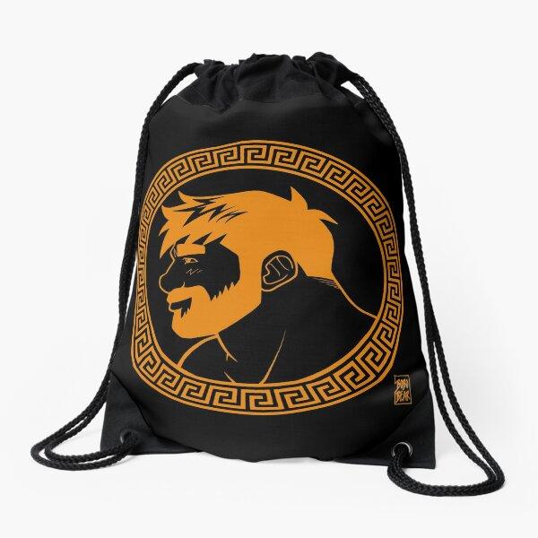 ADAM LIKES GREECE Drawstring Bag