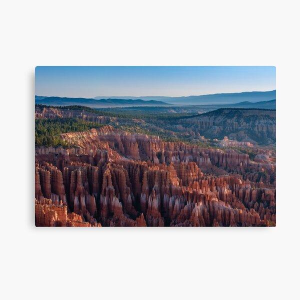 Bryce Vista Canvas Print