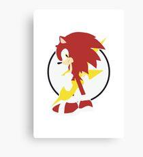 Anthropomorphic Hedgehog Canvas Print