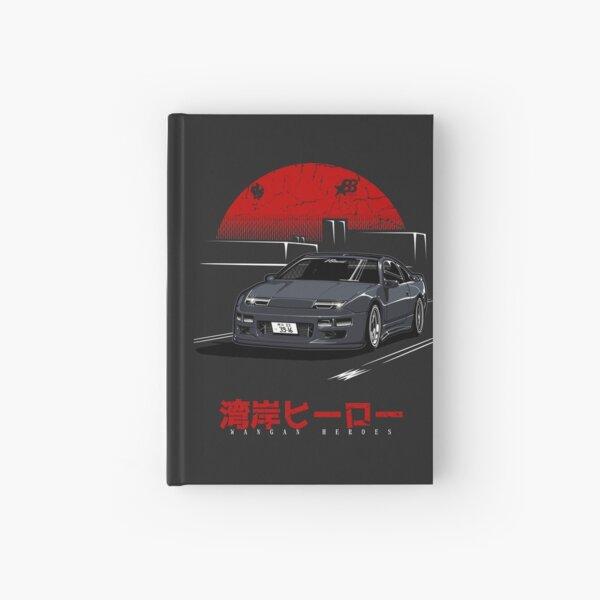 Wangan Heroes Z32 - Black Hardcover Journal