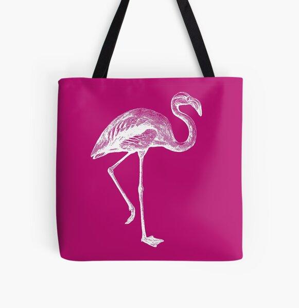 Flamingo All Over Print Tote Bag