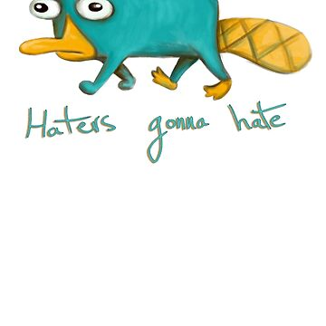 Perry the Platypus by LauraMSS