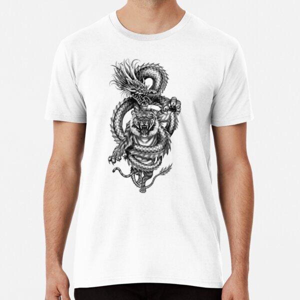 Tiger and Dragon Premium T-Shirt