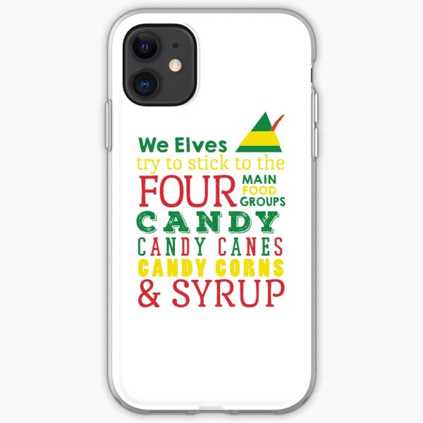 Candy, Candy Canes, Candy Corn, & Syrup iPhone Soft Case