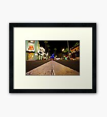 Road to Hollywood Framed Print