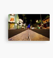 Road to Hollywood Canvas Print