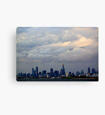 Melbourne Cloud Canvas Print