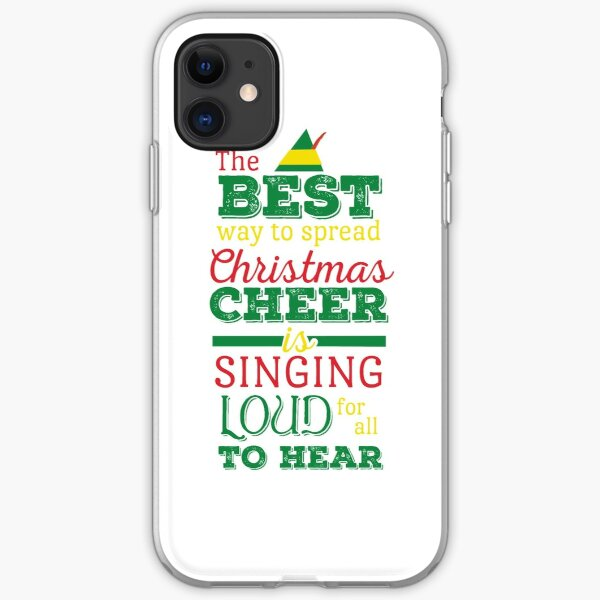 Christmas Cheer iPhone Soft Case