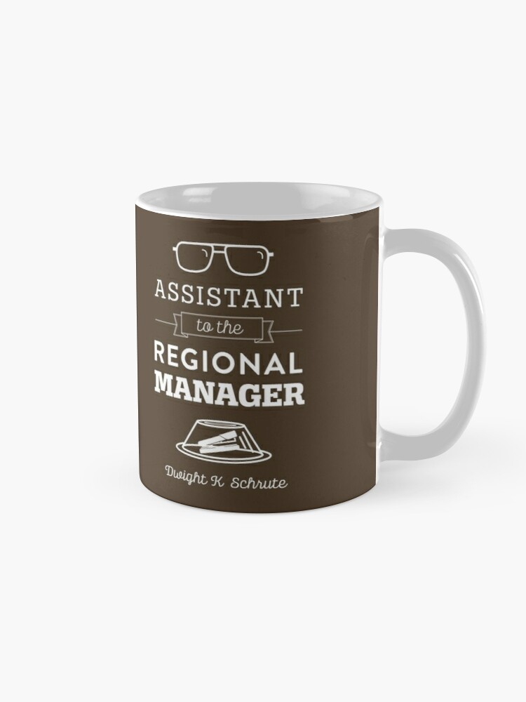 Alternate view of The Office Dunder Mifflin - Assistant to the Regional Manager Mug