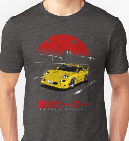 Wangan Heroes FD3S - Yellow T-Shirt