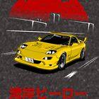 Wangan Heroes FD3S - Yellow by BBsOriginal