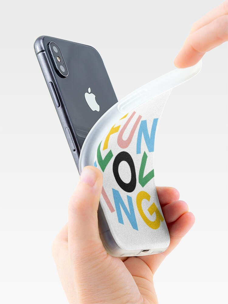 Alternate view of have a giggle iPhone Case & Cover