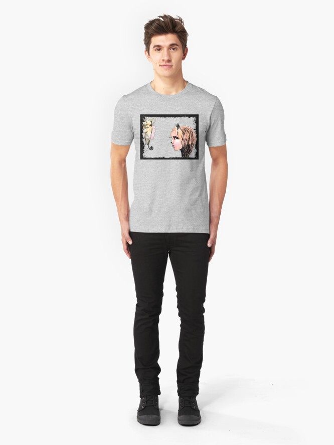 Alternate view of The Fox and The Grapes Slim Fit T-Shirt