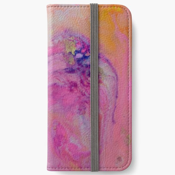 Abstract Magic 41 iPhone Wallet