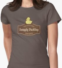 The Snuggly Duckling Womens Fitted T-Shirt
