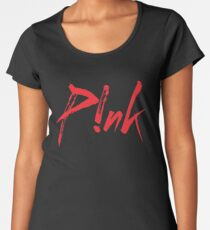 Pink Premium Scoop T-Shirt