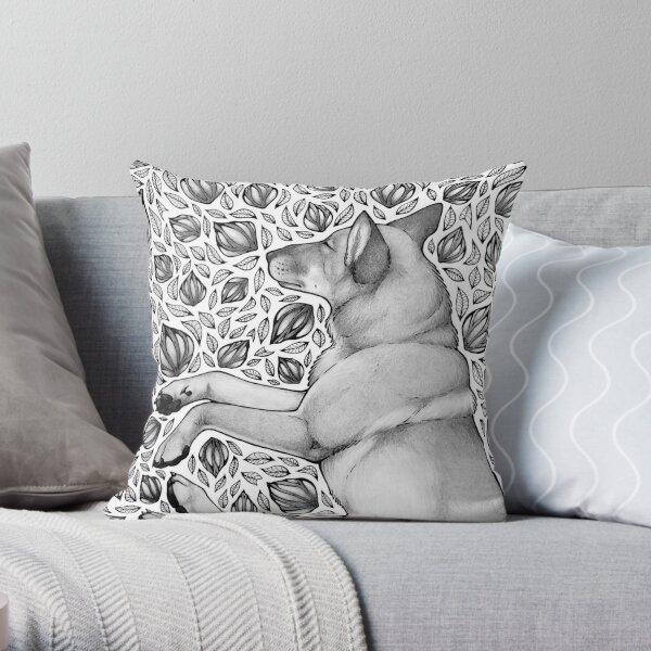 Dingo Dreaming Throw Pillow
