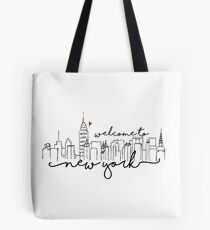 Willkommen in New York Tote Bag