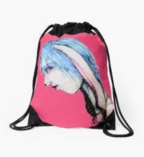 My Bunny Girl Drawstring Bag